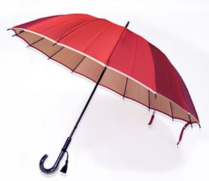 小宮商店 甲州織16本骨長傘「かさね」