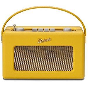ロバーツラジオ R250 レザークロス サフロン