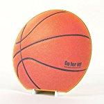 バスケットボール型色紙