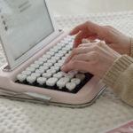 タイプライター風キーボード