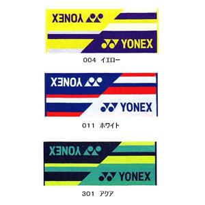 YONEX スポーツタオル 今治タオル 2017〜18年秋冬モデル