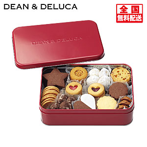 〈DEAN & DELUCA〉ホリデークッキー缶